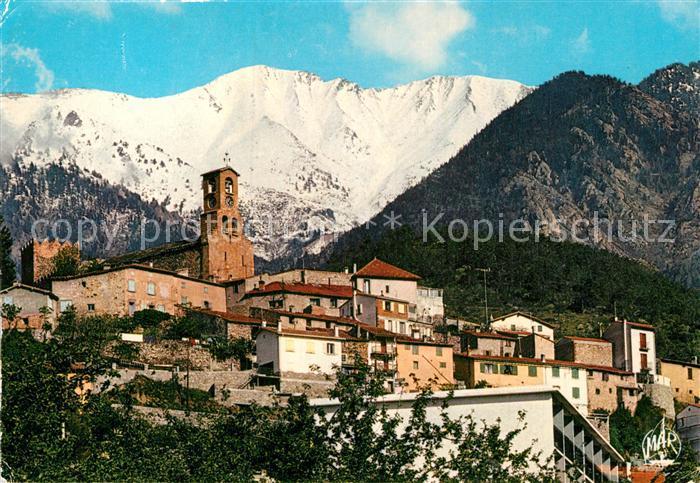 AK / Ansichtskarte Vernet les Bains et les Massif du Canigou Kat. Vernet les Bains