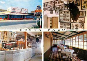 AK / Ansichtskarte Sanlucar La Mayor Venta Pazo Fachada Museo Barra Comedor