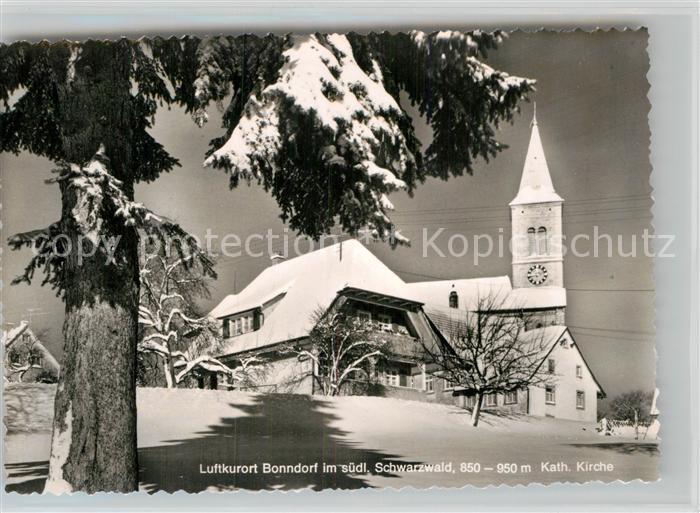 AK / Ansichtskarte Bonndorf Schwarzwald Katholische Kirche Kat. Bonndorf