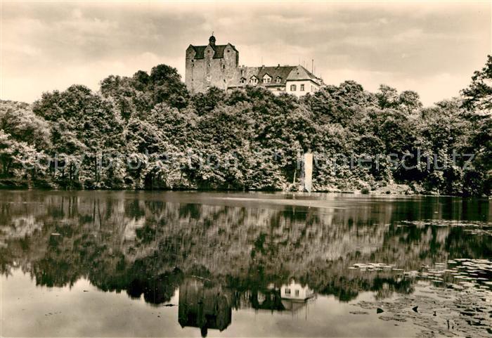 AK / Ansichtskarte Ballenstedt Schloss Forstfachschule Kat. Ballenstedt