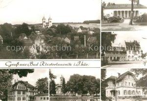 AK / Ansichtskarte Bad Klosterlausnitz Klosterkirche Sanatorium Dr. Friedrich Wolf Markt Rathaus  Kat. Bad Klosterlausnitz