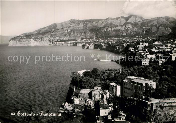 AK / Ansichtskarte Sorrento Campania Panorama Kat. Sorrento
