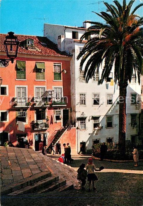 AK / Ansichtskarte Lisboa Recanto de Alfama  Kat. Portugal