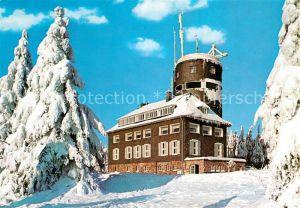 AK / Ansichtskarte Winterberg Hochsauerland Gaststaette Kahler Asten  Kat. Winterberg