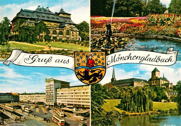AK / Ansichtskarte Moenchengladbach Kaiser Friedrich Halle