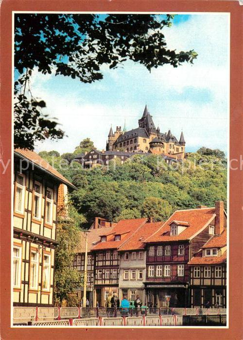 AK / Ansichtskarte Wernigerode Harz Feudalmuseum Schloss Wernigerode Kat. Wernigerode