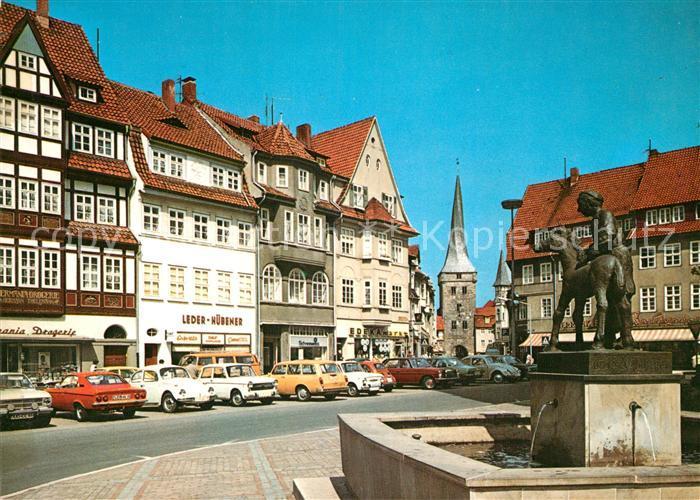 AK / Ansichtskarte Duderstadt Markt Brunnen Kat. Duderstadt
