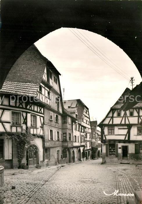 AK / Ansichtskarte Riquewihr Haut Rhin La Grande Rue vue du Dolder Kat. Riquewihr