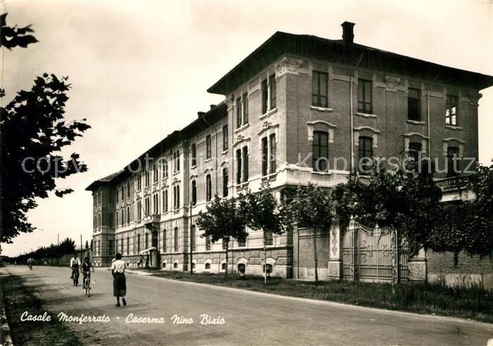 AK / Ansichtskarte Casale Monferrato Caserna Nino Bixio