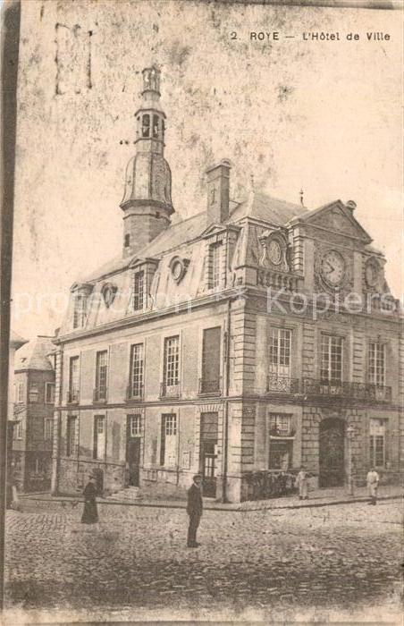 AK / Ansichtskarte Roye Somme Hotel de Ville  Kat. Roye