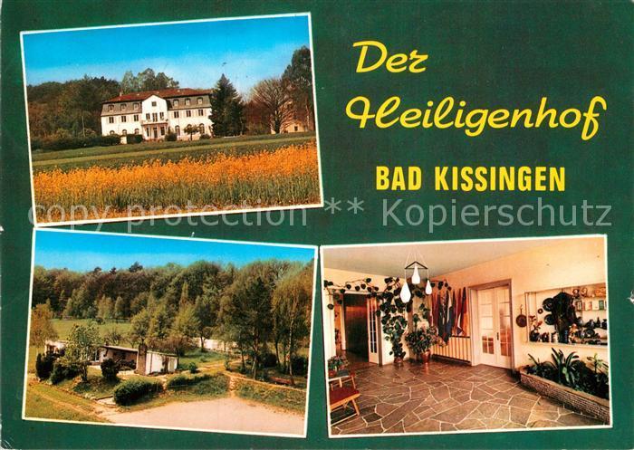 AK / Ansichtskarte Bad Kissingen Der Heiligenhof Bildungsst?tte Kat. Bad Kissingen