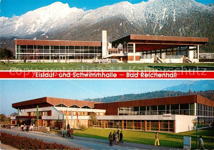 AK / Ansichtskarte Bad Reichenhall Eislauf Schwimmhalle Kat. Bad Reichenhall 0