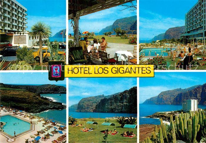 AK / Ansichtskarte Puerto Santiago Tenerife Hotel Los Gigantes