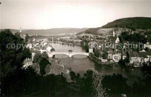 AK / Ansichtskarte Laufenburg Baden Panorama Rheinbruecke Kat. Laufenburg (Baden)