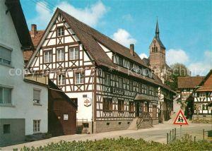 AK / Ansichtskarte Kappelrodeck Gasthaus zur Linde Kat. Kappelrodeck