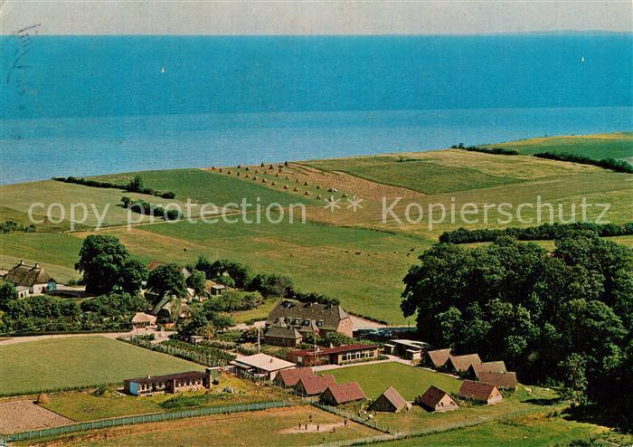 AK / Ansichtskarte Schoenhagen Brodersby Fliegeraufnahme Kat. Brodersby Schlei