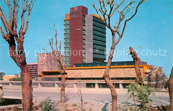 AK / Ansichtskarte Ciudad de Mexico The Rectory Building of the National University of Mexico Kat. Ciudad de Mexico