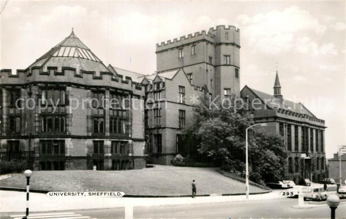 AK / Ansichtskarte Sheffield University Kat. Sheffield