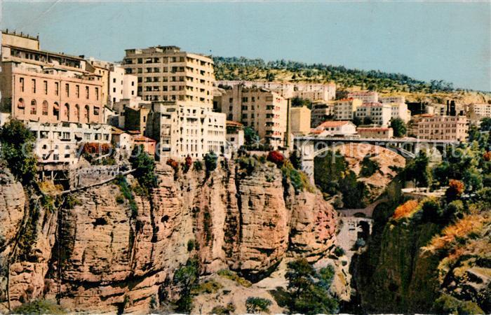 AK / Ansichtskarte Constantine Pont d'El Kantara et Gorges du Rhumel Kat. Algerien