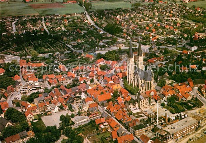 AK / Ansichtskarte Billerbeck Westfalen Fliegeraufnahme Kat. Billerbeck