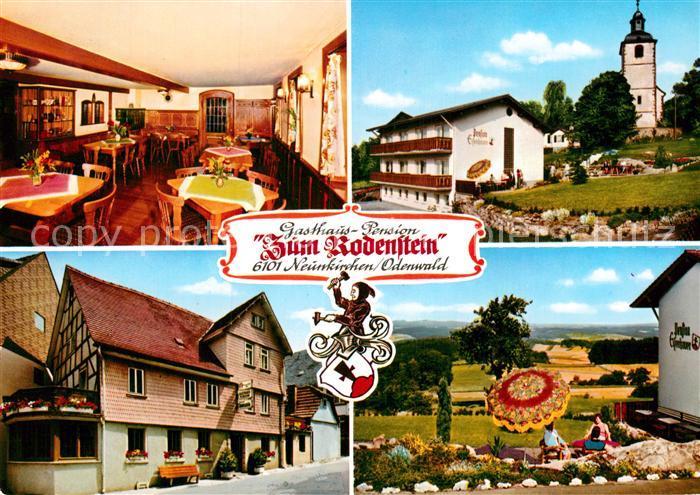 AK / Ansichtskarte Neunkirchen Odenwald Gasthaus Zum Rodenstein Kat. Modautal