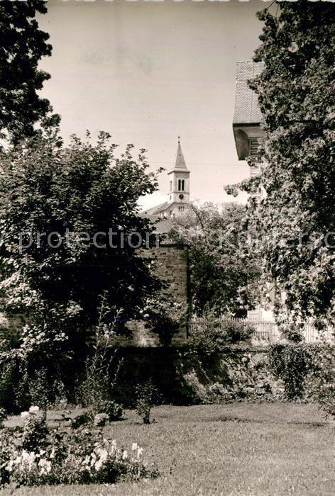 AK / Ansichtskarte Bonndorf Schwarzwald Teilansicht mit Kirche Kat. Bonndorf
