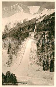 AK / Ansichtskarte Oberstdorf Skiflugschanze Wintersport Allgaeuer Alpen Kat. Oberstdorf