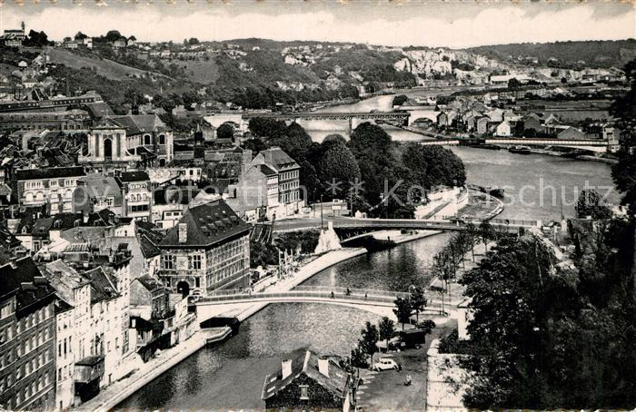 AK / Ansichtskarte Namur sur Meuse Sambre et Meuse