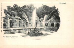 AK / Ansichtskarte Bayreuth Schloss Eremitage untere Grotte Kat. Bayreuth