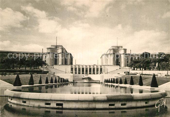 AK / Ansichtskarte Paris et ses merveilles Palais de Chaillot Jardins Kat. Paris