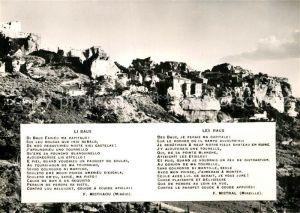 AK / Ansichtskarte Les Baux de Provence Vue generale Kat. Les Baux de Provence