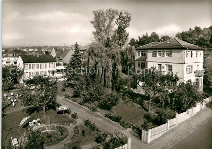 AK / Ansichtskarte Bad Koenig Odenwald Kur Erholungsheim Haus Keller Elisabeth Blaues Haus Hannelore Kat. Bad Koenig