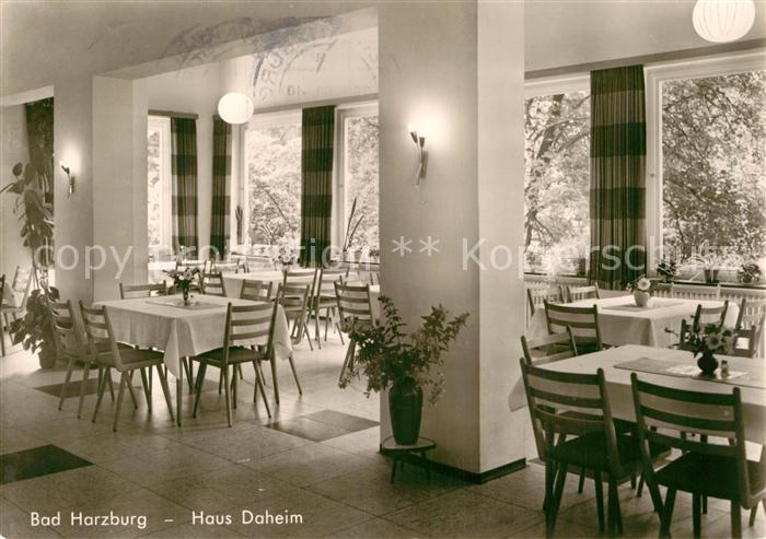 Ak Ansichtskarte Bad Harzburg Haus Daheim Kat Bad Harzburg Nr