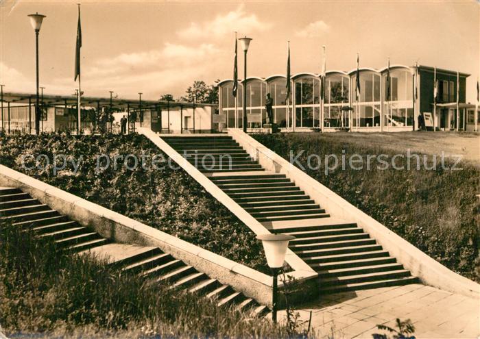 AK / Ansichtskarte Erfurt 1. Internationale Gartenbauaustellung der sozialistischen Staaten Kat. Erfurt