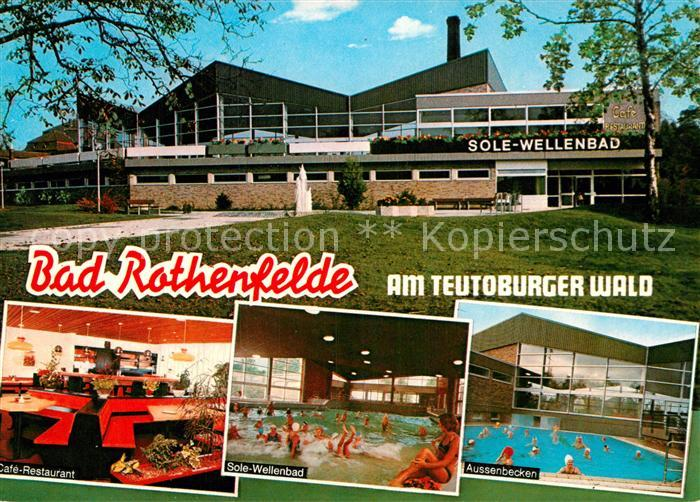 AK / Ansichtskarte Bad Rothenfelde Sole Wellenbad Kat. Bad Rothenfelde