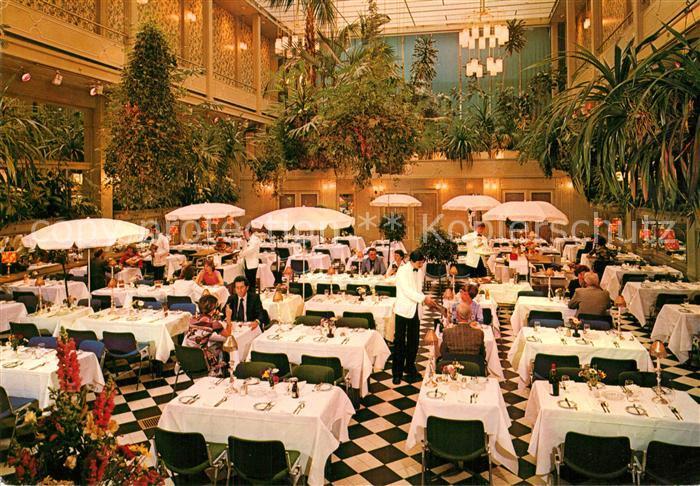 AK / Ansichtskarte Amsterdam Niederlande Grand Hotel Krasnapolsky Wintergarten Restaurant Kat. Amsterdam