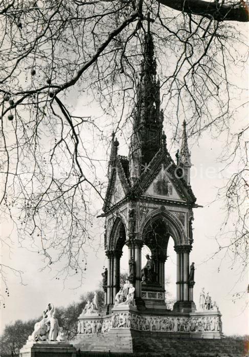 AK / Ansichtskarte London The Albert Memorial Kat. City of London
