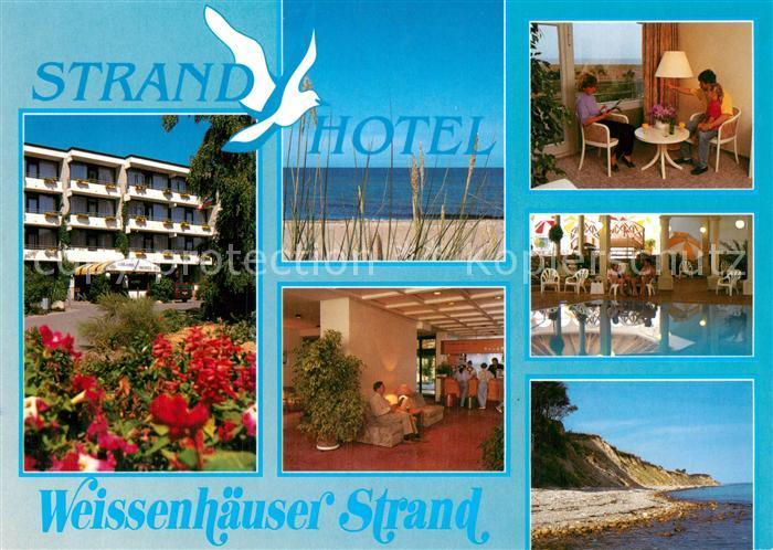 AK / Ansichtskarte Weissenh?user Strand Strand Hotel