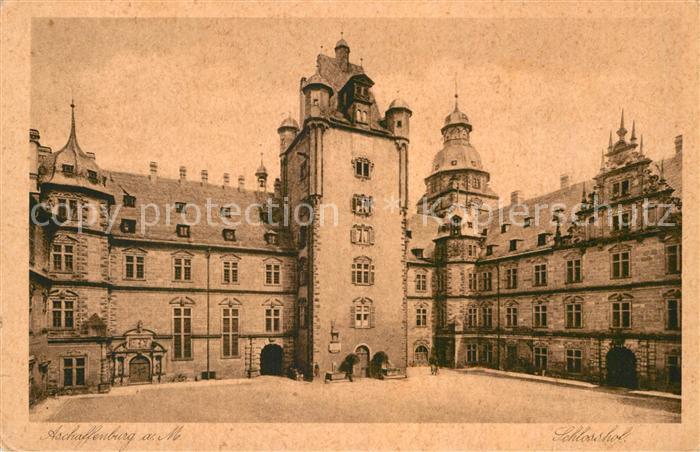 AK / Ansichtskarte Aschaffenburg Main Schloss Kat. Aschaffenburg