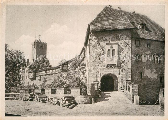 AK / Ansichtskarte Wartburg Eisenach Burg Eingang Kat. Eisenach