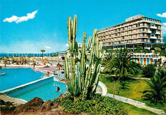 Ak ansichtskarte puerto de la cruz hotel valle mar poll puerto de la cruz kat puerto de la - Hotel san telmo puerto de la cruz tenerife ...