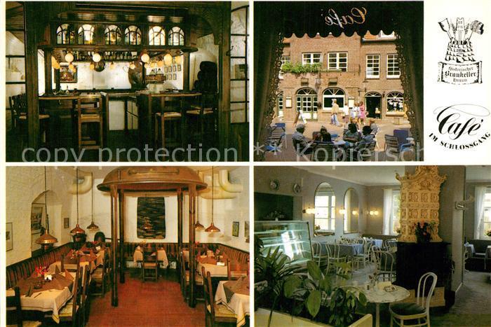 AK / Ansichtskarte Husum Nordfriesland Cafe Wiesendanger Kat. Husum
