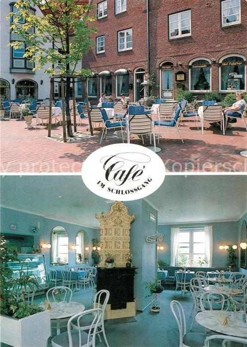 AK / Ansichtskarte Husum Nordfriesland Cafe Schlossgang Kat. Husum