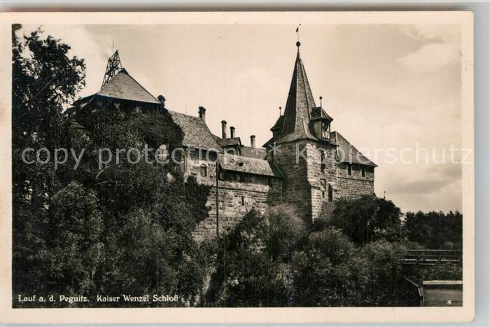 AK / Ansichtskarte Lauf Pegnitz Kaiser Wenzel Schloss Kat. Lauf (Pegnitz)