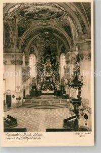AK / Ansichtskarte Goessweinstein Inneres der Wallfahrtskirche  Kat. Goessweinstein