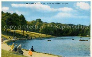 AK / Ansichtskarte Leeds Leeds Upper Lake Roundhay Park  Kat. Leeds