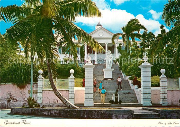 AK / Ansichtskarte Nassau Bahamas Government House