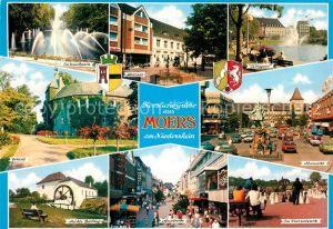 AK / Ansichtskarte Moers Koenigsee Schlosspark Neumarkt Schloss  Kat. Moers