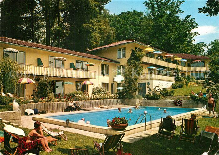 AK / Ansichtskarte Ambach Starnbergersee Sanatorium Dr. Wiedemann ...