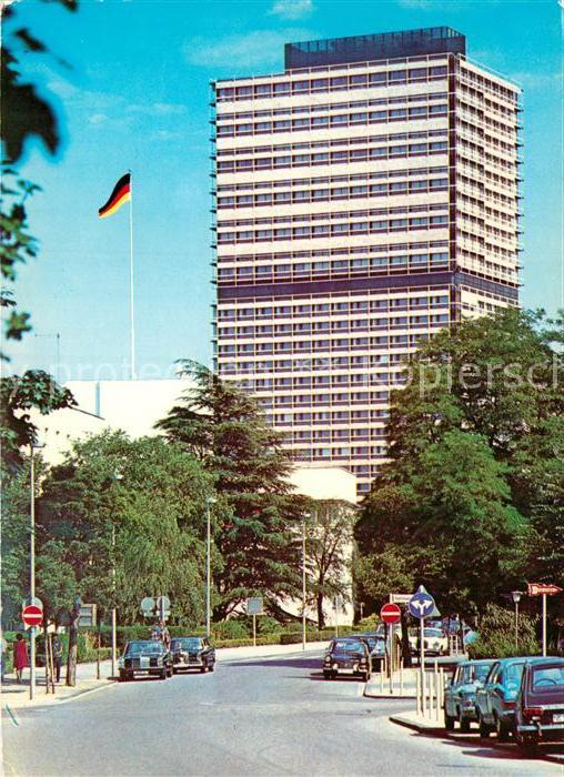 AK / Ansichtskarte Bonn Rhein Buero Hochhaus des Bundestages  Kat. Bonn